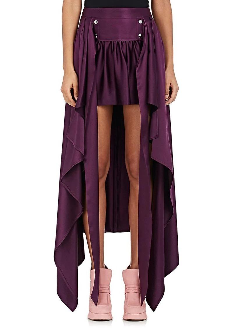 Sies Marjan Women's Megan Silk High-Low Skirt