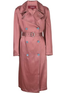Sies Marjan Sigourney satin trench coat