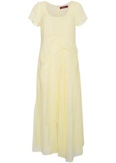 Sies Marjan silk scoop-neck dress