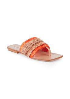 Sigerson Morrison Ava Fringe Thong Sandals