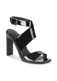 Sigerson Morrison Imala Patent Leather Sandals
