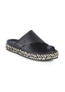 Sigerson Morrison Laddie Metallic Leather Espadrilles