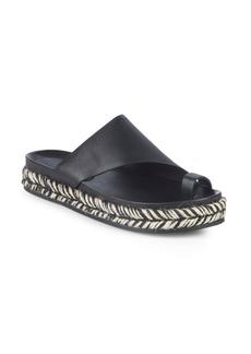 Sigerson Morrison Laddie Leather Espadrilles