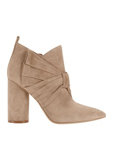Sigerson Morrison Kiran Bow Suede Booties