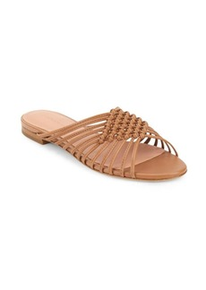 Sigerson Morrison Aggie Strappy Leather Slide Sandals