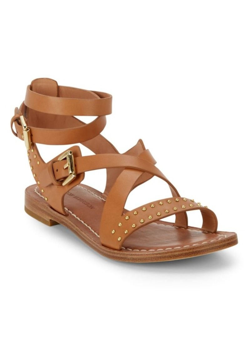 Sigerson Morrison Ainsley Studded Leather Sandals