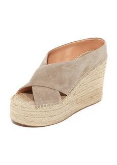 Sigerson Morrison Atifa Espadrille Wedge Sandals