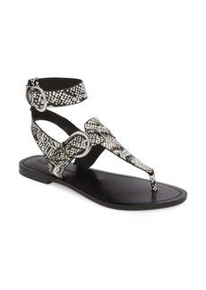 Sigerson Morrison Caitlyn Thong Ankle Strap Sandal (Women)