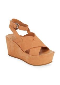 Sigerson Morrison Doe Platform Wedge Sandals