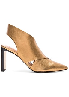 Sigerson Morrison Halima Bootie in Metallic Gold. - size 10 (also in 6,7.5,8,8.5,9.5)
