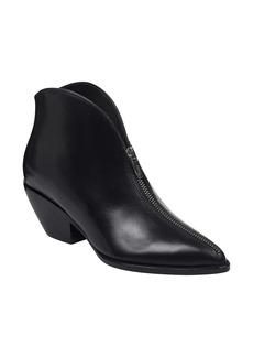 Sigerson Morrison Hamish Zip Pointy Toe Bootie (Women)