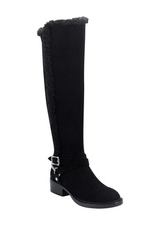 Sigerson Morrison Hardin Genuine Shearling Trim Knee High Boot (Women)