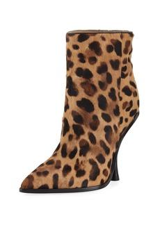 Sigerson Morrison Hong Leopard-Print Point-Toe Boot