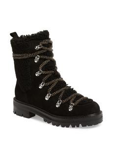 Sigerson Morrison Isla Genuine Shearling Lined Hiker Boot (Women)