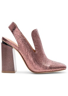 Sigerson Morrison Janet Heel in Metallic Copper. - size 10 (also in 7,7.5,8.5,9)