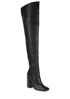 Sigerson Morrison Jessica Over-The-Knee Leather Boots