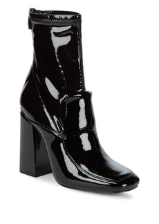 Sigerson Morrison Joanna Patent Leather Sock Boots