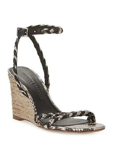 Sigerson Morrison Justice Wedge Sandals