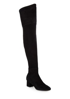 Sigerson Morrison Karissa Suede Over-The-Knee Boots