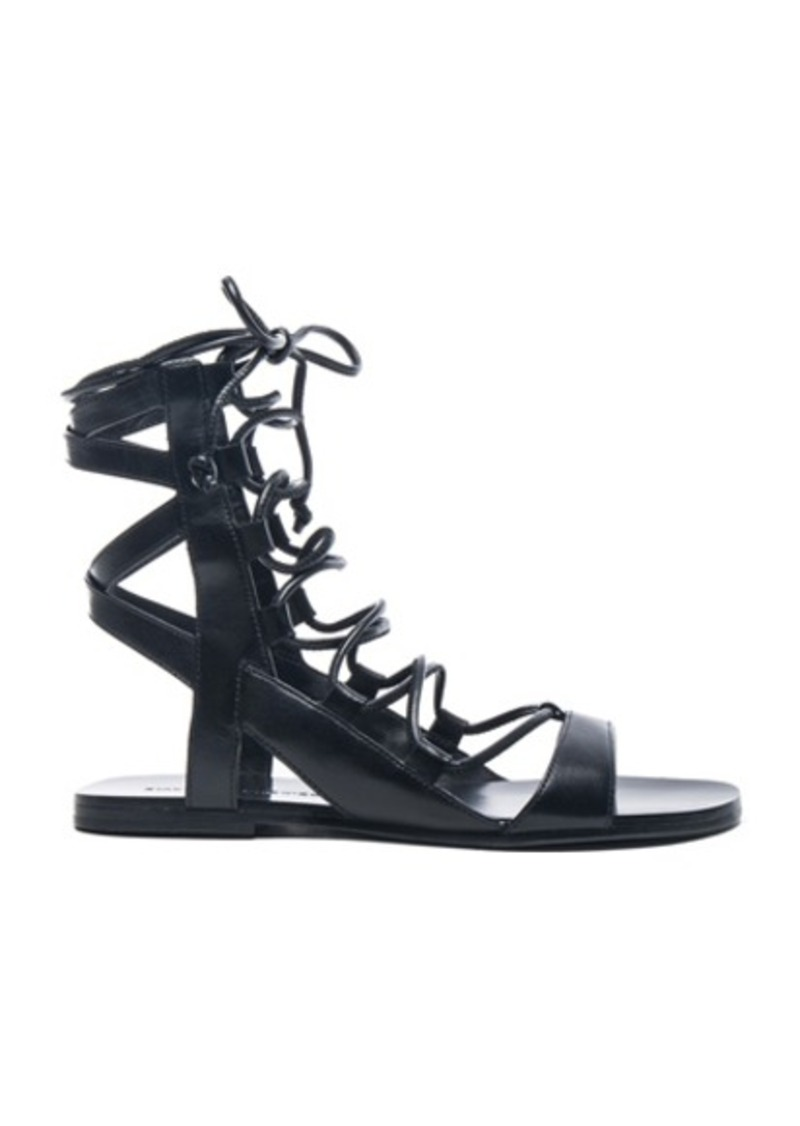 Sigerson Morrison Leather Bunny Sandals