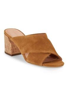 Sigerson Morrison Rhoda Suede High-Heel Sandals