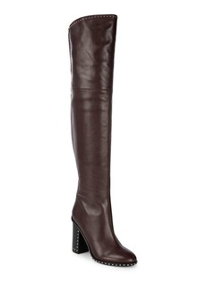 Sigerson Morrison Studded Over-The-Knee Boots