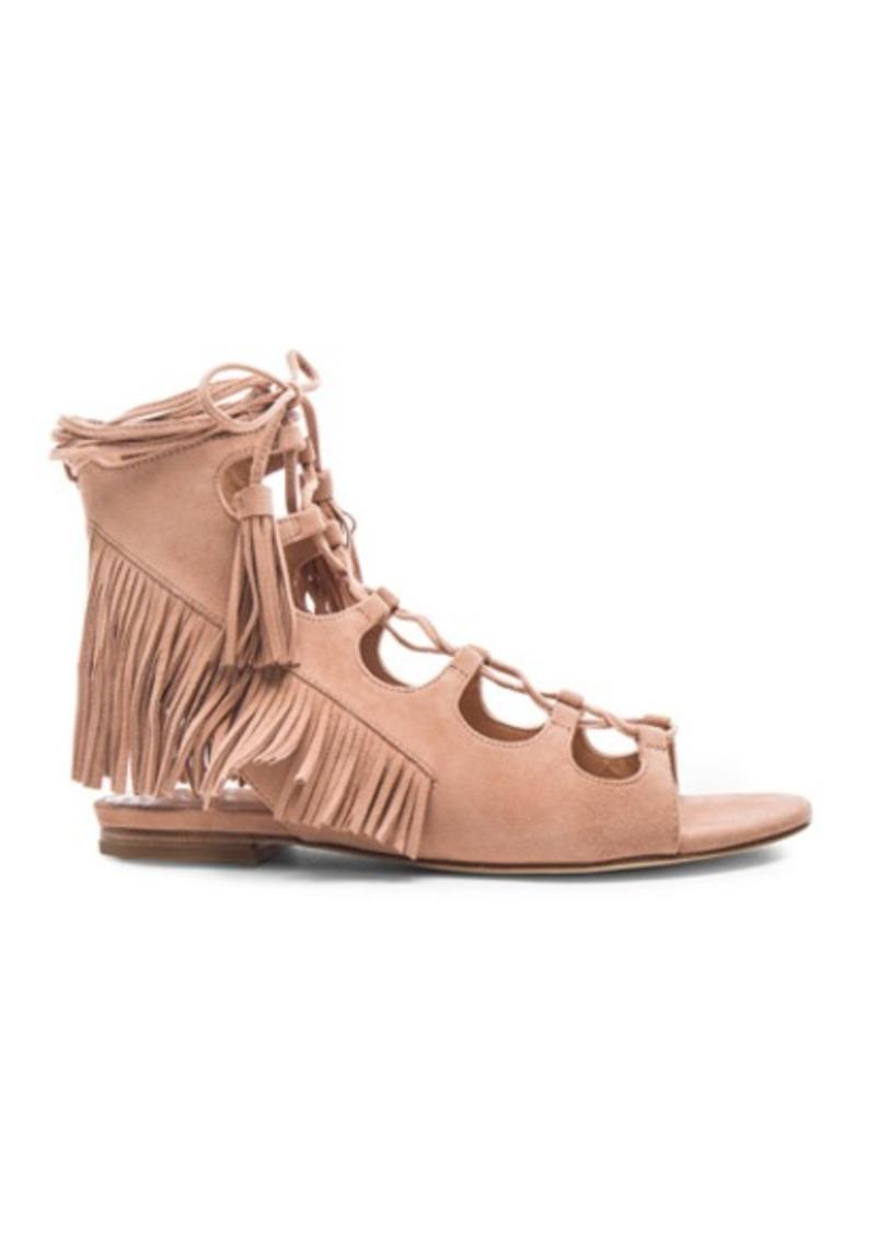 Sigerson Morrison Suede Azzia Sandals