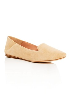 Sigerson Morrison Valentine Smoking Slipper Pointed Toe Flats