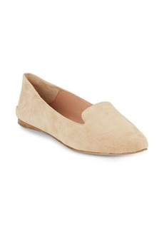 Sigerson Morrison Valentine Solid Slip-On Leather Flats