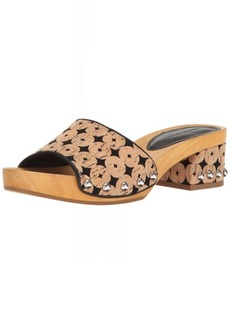 Sigerson Morrison Women's Akira Slide Sandal  10 M US