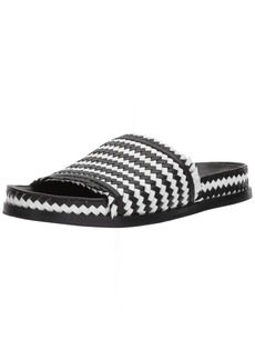Sigerson Morrison Women's AOVEN Flat Sandal  8.5 Medium US