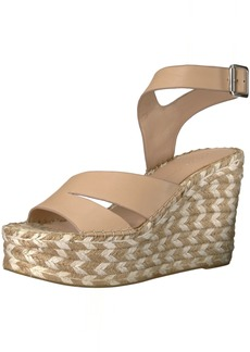 Sigerson Morrison Women's ARIEN Espadrille Wedge Sandal   Medium US