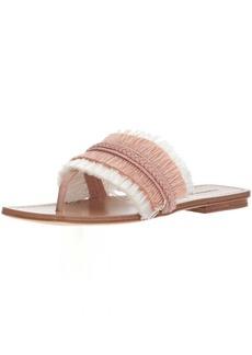 Sigerson Morrison Women's AVIS Flat Sandal  6 Medium US