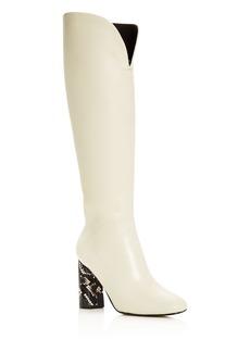 Sigerson Morrison Women's Barretta Square-Toe Boots