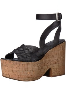 Sigerson Morrison Women's Becca Espadrille Wedge Sandal  10 Medium US