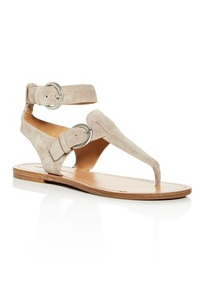 Sigerson Morrison Women's Caitlyn Ankle-Strap Thong Sandals