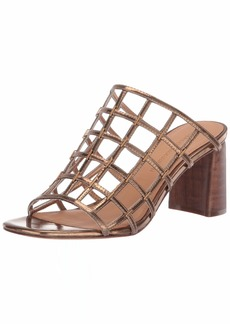 Sigerson Morrison Women's Daina Heeled Sandal  38 M EU (8 US)