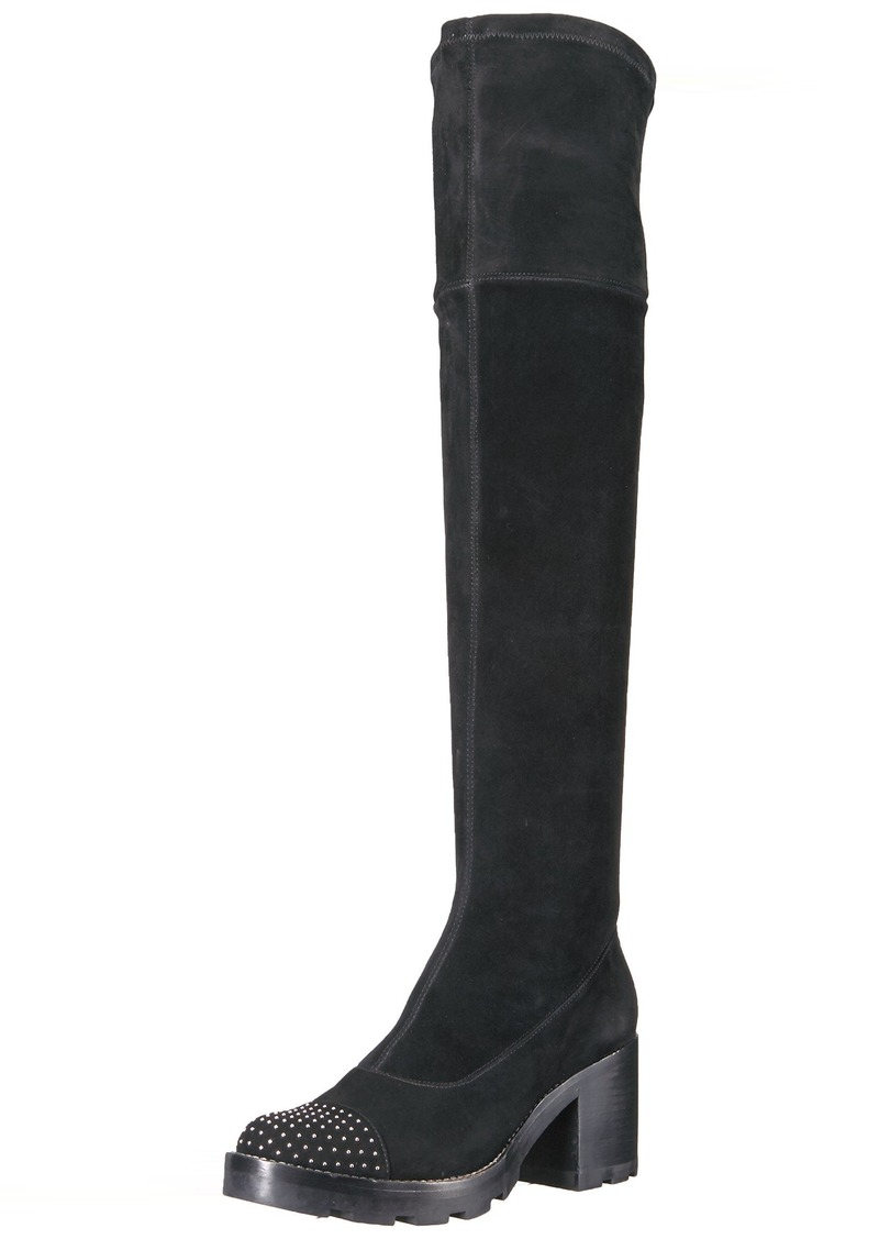 Sigerson Morrison Women's Gemma Over The Knee Boot BLACK