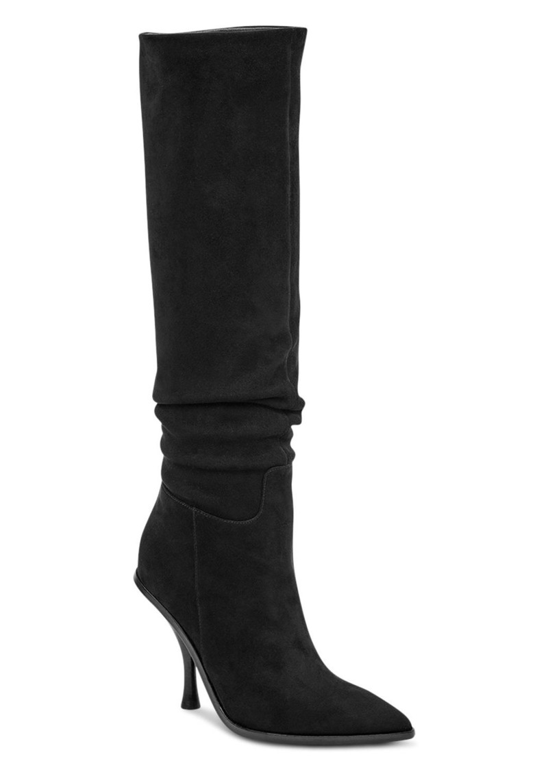 Sigerson Morrison Women's Halie Suede Over-the-Knee High-Heel Boots
