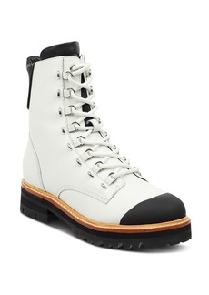 Sigerson Morrison Women's Irene Round Toe Leather Boots