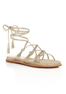 Sigerson Morrison Women's James Ankle-Tie Sandals