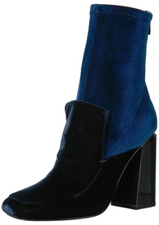 Sigerson Morrison Women's JOANNA2 Ankle Boot BLU Notte  Medium US