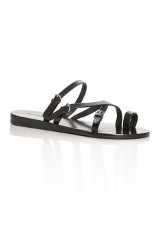 Sigerson Morrison Women's Kaley Toe-Ring Sandals
