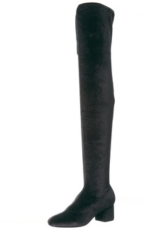 Sigerson Morrison women's KIRA Over the Knee Boot BLACK