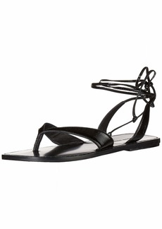 Sigerson Morrison Women's Lace up Sandal Flat