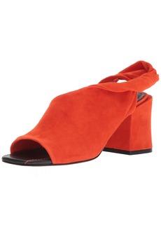 Sigerson Morrison Women's Lenny Sandal orange