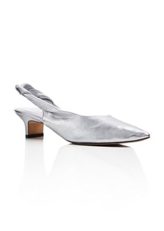 Sigerson Morrison Women's Melina Leather Kitten Heel Pumps - 100% Exclusive