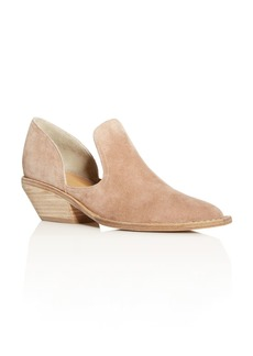 Sigerson Morrison Women's Tabatha Cutout Pointed-Toe Booties