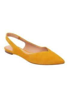 Sigerson Morrison Sunshine Suede Slingback Ballet Flats
