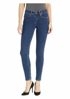 Silver Jeans Avery High-Rise Curvy Fit Skinny Jeans in Indigo L94010SSX377